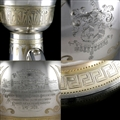 Cleopatra's Needle (London) - Silver Urn Presented to General Sir James Alexander, 1878