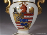 WORCESTER? Armorial Porcelain Ice Cup EYTON of EYTON