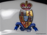 Armorial Porcelain Plate  PRINCE THURN UND TAXIS Prinz