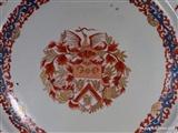 Chinese Armorial Porcelain VAN GELLICUM charger Plate 中国纹章瓷板乾隆帝