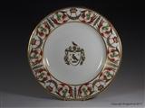Derby Armorial Porcelain Plate BIRD OF PREY 1820