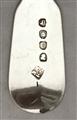 Antique George III Sterling Silver Fiddle Pattern Dessert Fork 1815