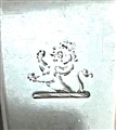 Antique Victorian Sterling Silver Fiddle Pattern Table Spoon 1850