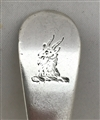 Antique sterling Silver George III Old English Pattern Child's Spoon 1789