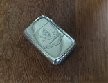 Antique Victorian sterling silver vesta case