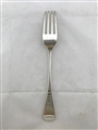 Antique Sterling Silver George III Old English Pattern Table Fork 1788