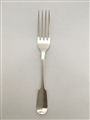 Antique Sterling Silver William IV Fiddle pattern Dessert Fork 1836