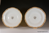 Pair Minton?  Armorial Porcelain Plates SMITH of Devon.