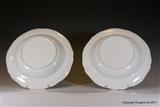 Pair Minton?  Armorial Porcelain Plates SMITH of Devon.