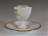 Minton Armorial Porcelain Monogram ROTHSCHILD MENTMORE TOWERS