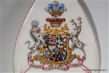 Unique Royal Doulton EARL DARTMOUTH Legge Family Coat Arms Presentation Trowel.