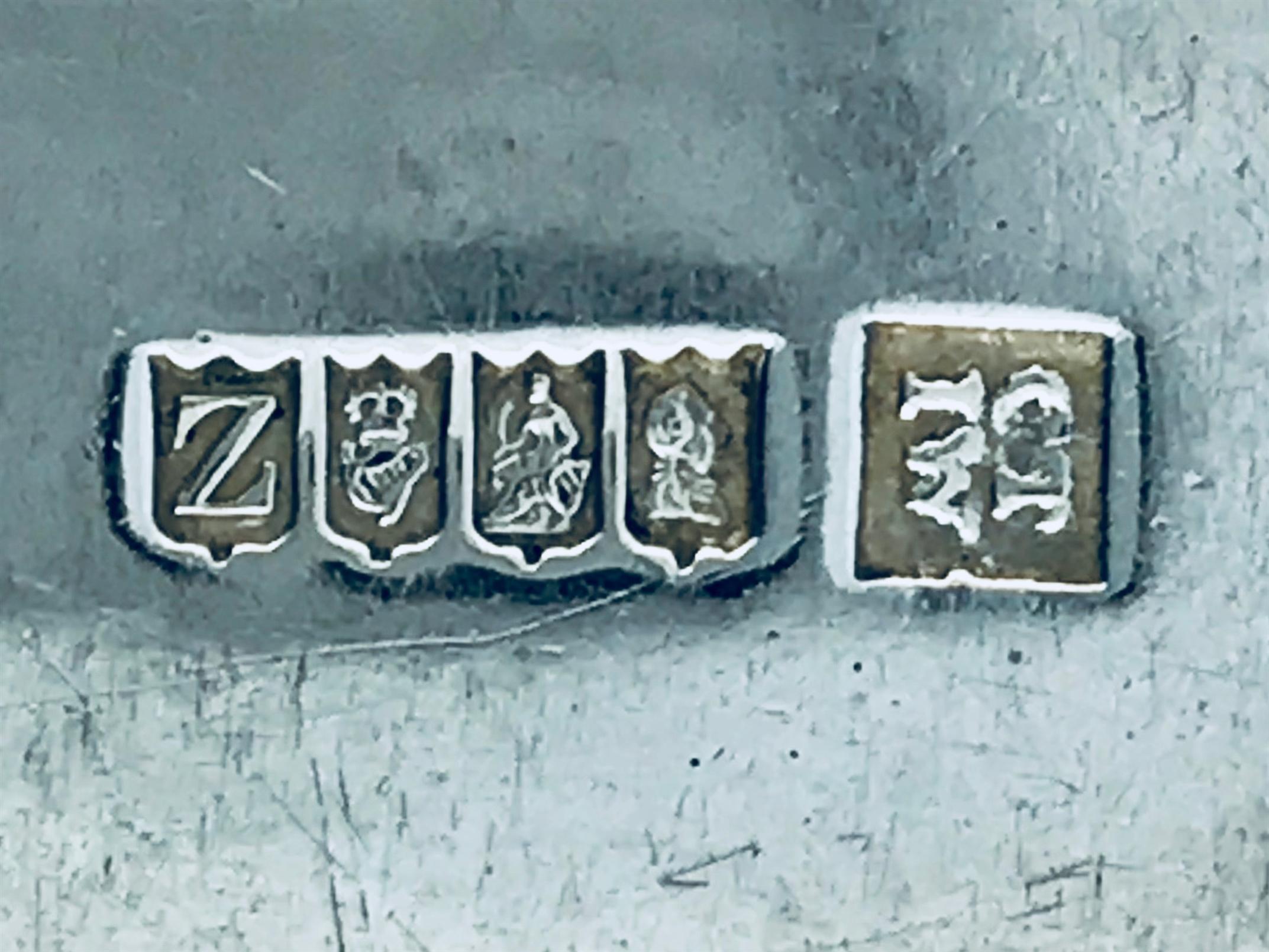 Antique Cork Sterling Silver Hallmarked George Iii Irish Silver