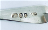 Antique Sterling Silver Hallmarked George III Old English Pattern Teaspoon 1790