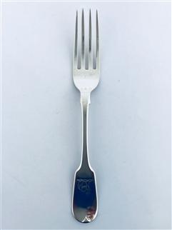 Antique William IV Sterling Silver Hallmarked  Fiddle Pattern Dessert Fork 1833