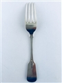 Antique William IV Sterling Silver Hallmarked  Fiddle Pattern Dessert Fork 1833