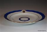 MEISSEN Armorial Porcelain Plate COUNT CLAM GALLAS BOHEMIA Coat Arms Crest