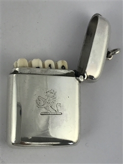 Antique Hallmarked Edwardian Silver Shooting Place Finder or Butt Marker 1902