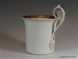 Armorial Porcelain Cup FAIRLIE Braid Castle SCOTLAND Coat Arms Crest