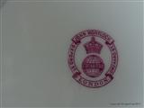 Minton Armorial Porcelain Plates LORD NUNBURNHOLME WILSON MONOGRAM Coat Arms Crest