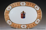 Armorial Porcelain Plate ARCHBISHOP WILLIAM HOWLEY Worcester