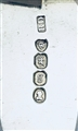 Antique George IV Sterling Silver Fiddle Pattern Sauce Ladle 1822