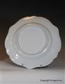 Worcester Armorial Porcelain Plate CASS imp POTTER Crest Coat Arms