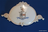 English Armorial Porcelain Coat Arms LEVETT