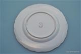 Superb Worcester Armorial Porcelain Crest Plate VAUGHAN Family
