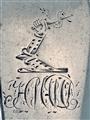 Antique Irish Sterling Silver George III Fiddle Pattern Sauce Ladle 1822