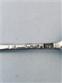 Antique Sterling Silver George III Old English Pattern Dessert Spoon 1774