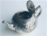 A Victorian sterling silver teapot