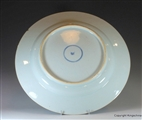 1715 CHINESE Armorial Porcelain CHARGER Plate CAPTAIN MARTIN KANGXI