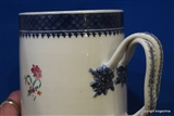 Antique Chinese Armorial Porcelain Mug ARCHER CREST