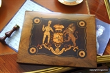 Sorrento Ware Folio BARON MICKLETHWAIT PECKHAM Saved Queen Victoria
