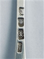 Antique George III Hallmarked Sterling Silver 'Wriggle Edge' Tablespoon 1774