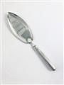 Antique George III Hallmarked Sterling Silver Old English Thread Pattern Fish Slice 1794