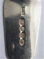 Antique William IV Hallmarked Sterling Silver Feather-edged Fiddle Pattern Dessert Spoon, 1835