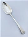 Antique George III Hallmarked Sterling Silver Old English Pattern Tablespoon 1798