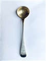 Antique Victorian Hallmarked Sterling Silver Old English Pattern Salt Spoon 1882