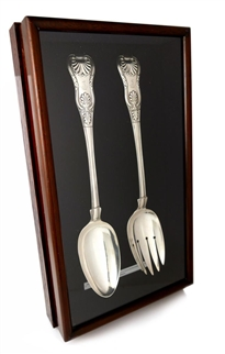 Singapore - Sir Stamford Raffles' Crested Silver Servers, 1824