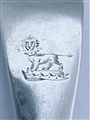 Antique George III Hallmarked Sterling Silver Old English Pattern Tablespoon 1787