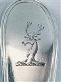 Antique Irish Sterling Silver Hallmarked Old English Thread Tablespoon Dublin 1786