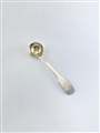Antique Georgian Sterling Silver Hallmarked Fiddle Pattern Salt Spoon 1827