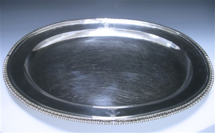 Antique Silver George III Meat Dish made for Prime Minister George Hamilton-Gordon in 1805