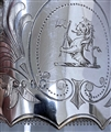 Antique Silver Victorian Claret Jug made in 1872