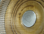 Antique Silver George III Single Wine Coaster made in 1799