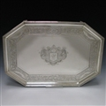 Antique Silver George III Salver made in 1786