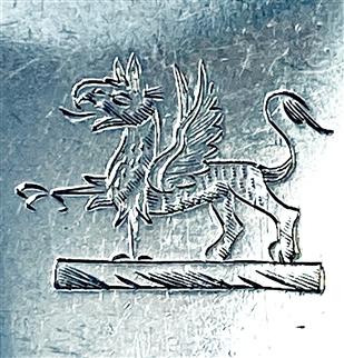 Antique Hallmarked Sterling Irish Silver George III silver Tablespoon
