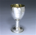 Pair of Irish Provincial Silver Goblets made c.1770