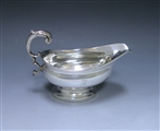 Antique Silver George III Sauce Boat made in 1810